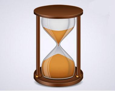 آیکن ساعت شنی برای طراحی بنر