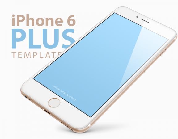 فایل PSD iPhone 6 Plus