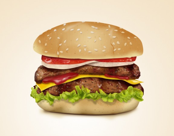 Free Hamburger Icon PSD