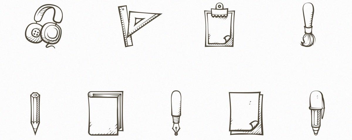 مجموعه 9 آیکون متنوع و با سبک متفاوت