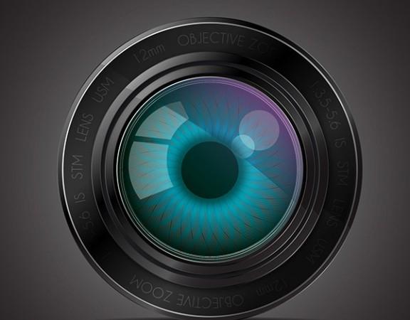 وکتور لنز دوربین